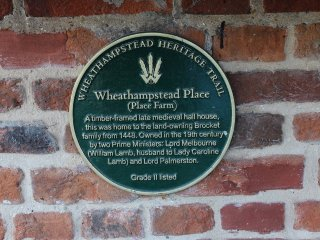 Wheathampstead Place since 1448. Previously owned by two former Prime Ministers