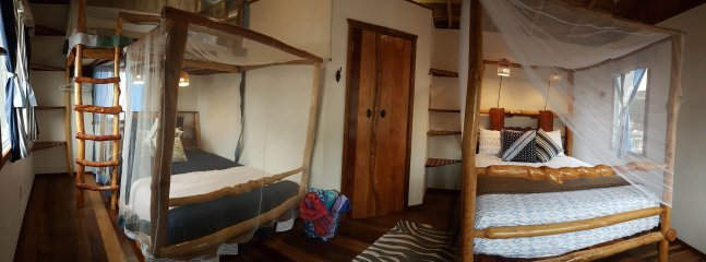 Bungalow on the Beach in Belize - Sleeps 5 in 3 beds.