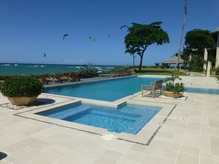 Stunning, Large, Ocean Front 2BR/2BA Ocean Point Condo - Kite Beach, Cabarete