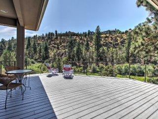 Riverfront 3BR Bend House w/Hot Tub, Views & Deck!