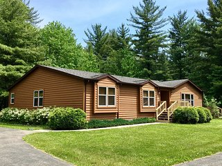 Trails End at Spring Brook Resort | Creekside Vacation Home | Scenic Nature View