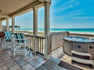 Beachcomber - Private Home w/ Pool & Hot Tub - Beachfront!  Gorgeous! Sleeps 22!
