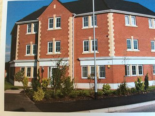 Beautiful,modern,luxury apartment.Close to countryside,shops and motorways.