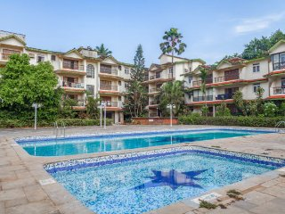 Peaceful 2-BR abode, 2 km from Calangute Beach