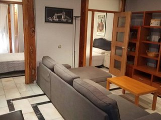 Latina Comfort apartment in Rastro with WiFi, airconditioning (warm / koud