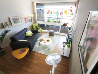 Bright and cosy +650 sq.ft. flat with terrace