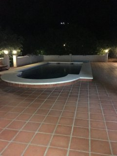 Enjoy your night in the swimming pool