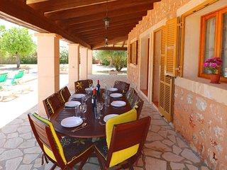 Sa Vinya, preciosa casa con wifi, piscina...
