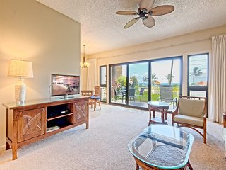 Peaceful Paradise! Spacious Condo, Full Kitchen, Wifi, Flat Screens-Kaha Lani