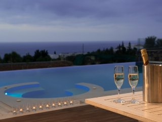 Irida Villa in Hersonissos with private heated pool and near sea