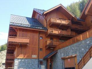 Appartement équipée 2 pièces 4 pers proche piste de ski avec vue exceptionnelle