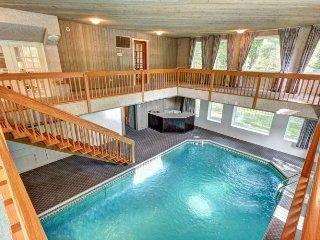 Grande maison familiale avec piscine intérieure
