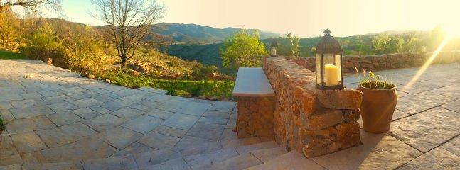 Main house terrace.