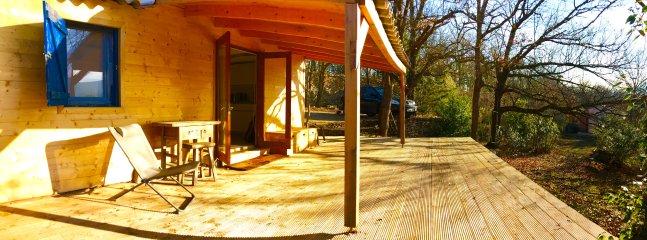 Guest house terrace,