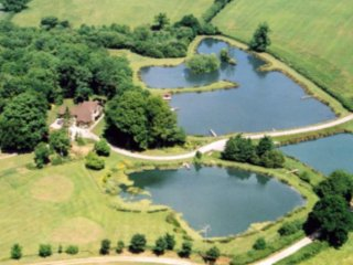 Rose Lodge at Whistley Waters, self catering holidays and fishing in Dorset
