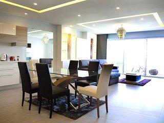 3 Bedroomed New Seaview Luxury Apartment Swieqi, Near Saint Julians  in Malta