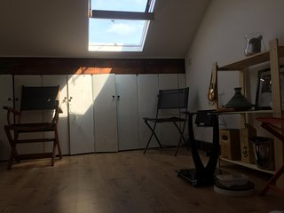 1 double room loft (toilet)