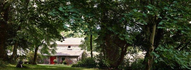 Ardcarne Lodge garden entrance