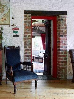 Sitting room doorway