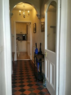 Traditional Victorian Hallway.