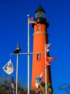 Ponce de Leon lighthouse is 4 miles south.