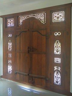 Sunroom doors to balcony