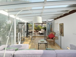 MILANO PENTHOUSE SAN LORENZO, house on 2 levels with veranda and terrace