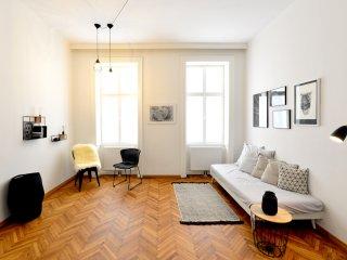 Appartement rénové dans un quartier branché