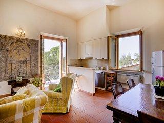 Arioso appartamento con splendida vista