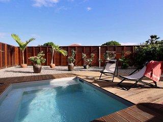 Villa Ti doucè  à 5 min de la plage à pied: 2 chambres, sud Martinique