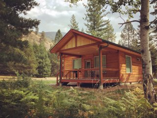 Private 2 BR cabin with mountain views
