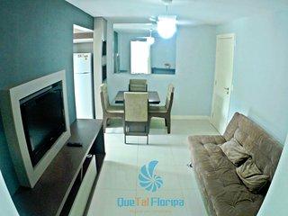 Lindo Apartamento em Canasvieiras - 6 pessoas - 2 quartos - 100 metros do mar