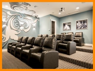 Reunion Resort 460 - villa with pool, game room and home theater near Disney