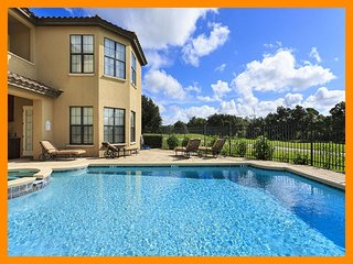 Reunion Resort 4 - 5 star villa with private pool and game room near Disney