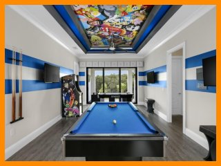 Reunion Resort 983 - villa with pool, game room and home theater near Disney