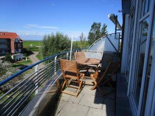 Ferienpark Vitamar Dorum Meerblick/ Hallenbad/Sauna, im Haus, Fahrstuhl, WLAN,