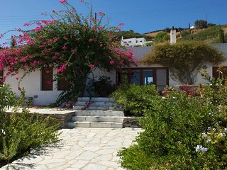 Villa Celestina located at Chrisopigi overlooking at the Aegean Sea