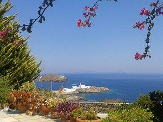 Villa Celestina located at Chrisopigi overlooking at the Aegean Sea