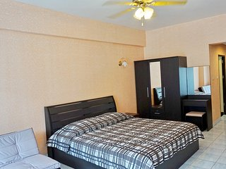 304 Budget Condo Comfy, Quiet Privacy in Pattaya with Pool & Parking free wifi