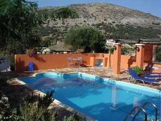 Villa Myrtos: Superb villa with private pool in a stunning location above Myrtos