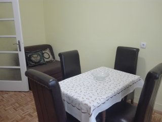 Apartment accros Belgrade Fair (near city center)
