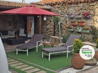 Casa rural Fuente Alberche de alquiler integro con capacidad para 4 o 6 personas