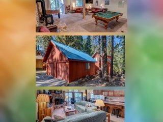 Donner Neverland *Pets* + Game Room & Gym/Pool/Sauna Passes (Sleep 14)