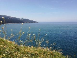 Apartamento Talako con vistas al mar