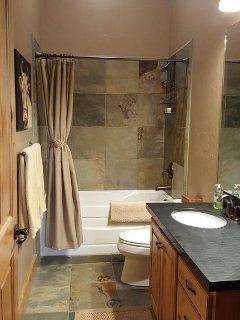 Family Bathroom, TubShower combo,