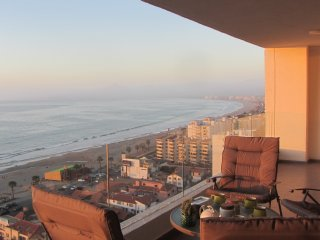 Green Space VIP Apartment in La Serena beach front view Wi-FI 6 people