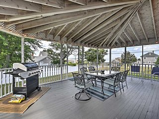 NEW! 6BR Plymouth House w/ Huge Deck & Ocean Views