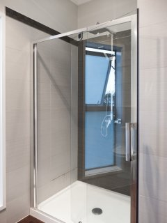 Shower in master bath.