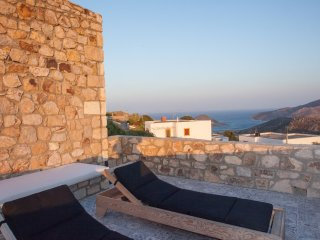 Panoramic Sea & Sunset View, Villa Chora, Patmos