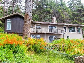 Secluded, updated five-building oceanfront property - beach access & great views